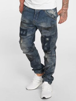 Yakuza Straight Fit Jeans 893  blau