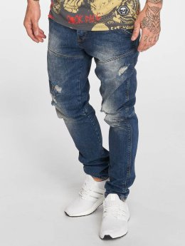 Yakuza Straight fit jeans Straight blauw