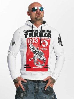 Yakuza Sweat capuche Chockin Victim blanc