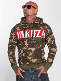 Yakuza Sweat capuche Military Flag camouflage
