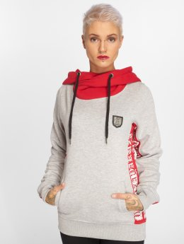 Yakuza Sweat capuche Lily Cross gris