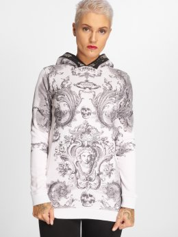 Yakuza Sweat capuche Floral V02 Long Flex gris