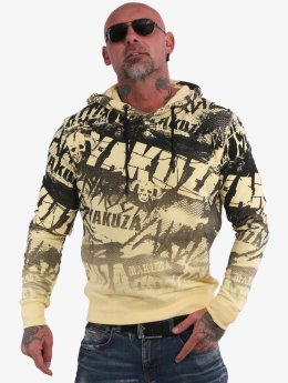 Yakuza Sweat capuche Crow jaune
