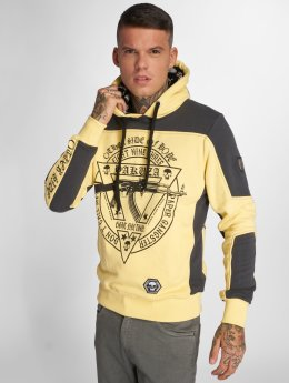 Yakuza Sweat capuche AK893 Two Face jaune