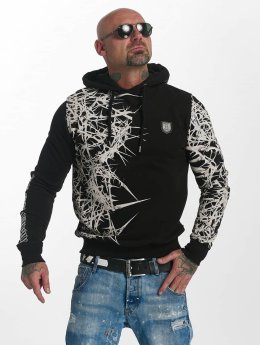 Yakuza Sweat capuche Pointed noir