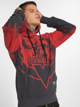 Yakuza Sweat capuche Trojan rouge