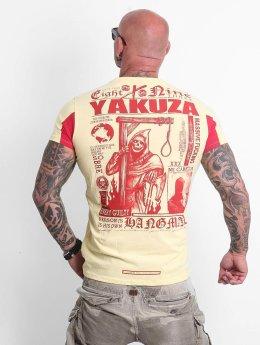 Yakuza T-paidat Hangman keltainen
