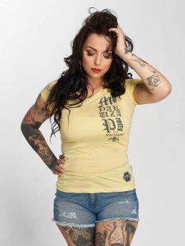 Yakuza T-paidat Violent keltainen