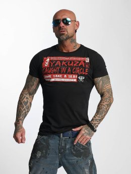 Yakuza T-paidat Take A Seat musta