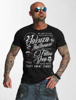 Yakuza T-paidat Jailhouse musta