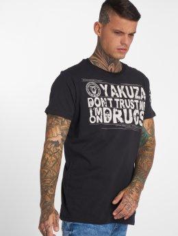 Yakuza T-paidat Trust musta