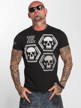 Yakuza T-paidat Skull Collection musta