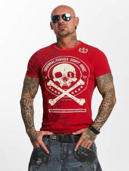 Yakuza T-paidat Face punainen