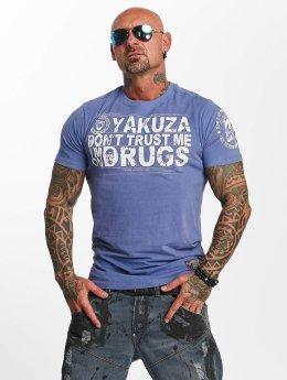 Yakuza T-paidat Trust sininen
