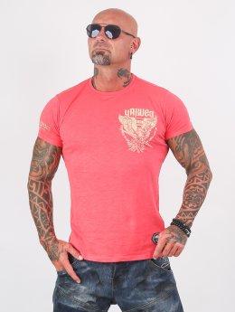 Yakuza T-paidat Eagle vaaleanpunainen