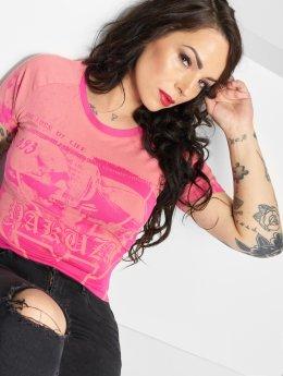 Yakuza T-paidat Trojan vaaleanpunainen