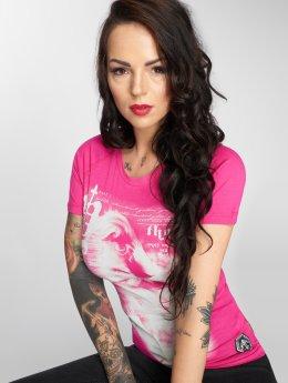 Yakuza T-paidat Scare Me vaaleanpunainen