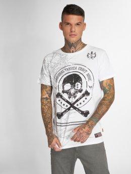 Yakuza T-paidat Face valkoinen