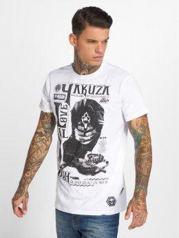 Yakuza T-paidat Love Kill Pray valkoinen
