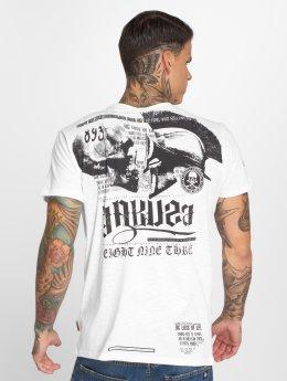 Yakuza T-paidat Trojan valkoinen