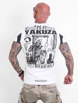 Yakuza T-paidat Hangman valkoinen