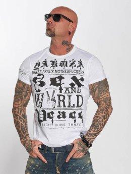 Yakuza T-paidat World Peace valkoinen