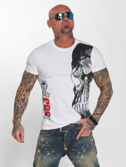 Yakuza T-paidat Skull valkoinen