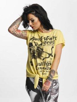 Yakuza T-Shirt Amor Wears Knot beige