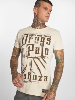 Yakuza T-Shirt PAIN beige