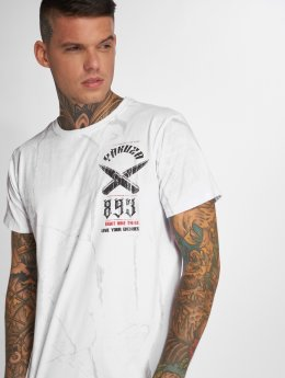 Yakuza T-Shirt Blaze N Glory blanc