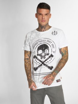 Yakuza T-Shirt Face blanc