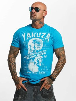 Yakuza t-shirt Love Hate blauw