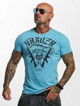 Yakuza T-Shirt Armed Society bleu