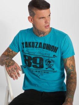 Yakuza T-Shirt 893 Union bleu