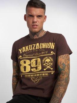 Yakuza T-Shirt 893 Union brown