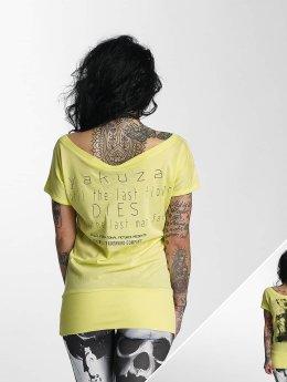Yakuza t-shirt Respirator geel
