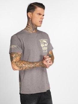Yakuza T-Shirt Trojan grau