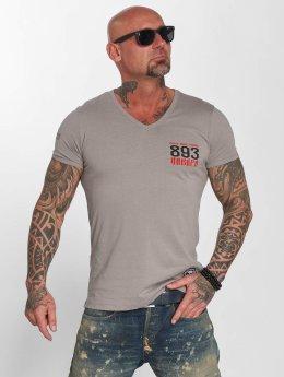 Yakuza t-shirt Daily grijs