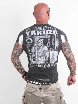 Yakuza t-shirt Hangman  grijs