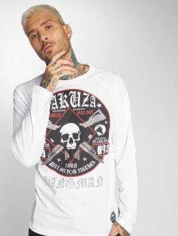Yakuza T-Shirt manches longues Hangman blanc
