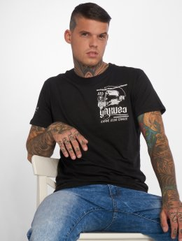 Yakuza T-shirt Trojan nero