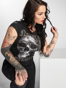 Yakuza T-Shirt Diamond Skull noir