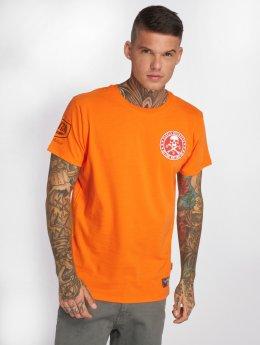 Yakuza t-shirt Shadowplay oranje