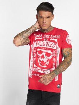 Yakuza t-shirt Kiss My XXX Two Face rood