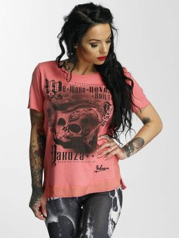 Yakuza T-Shirt Built rosa