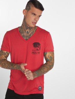 Yakuza T-Shirt Burnout rouge