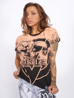 Yakuza T-Shirt Trojan schwarz