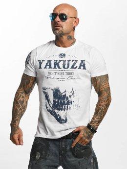 Yakuza T-Shirt Daily Skull weiß