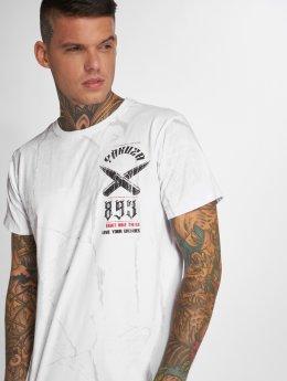 Yakuza T-Shirt Blaze N Glory weiß