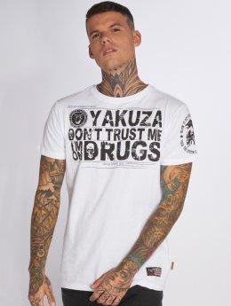 Yakuza t-shirt Trust wit
